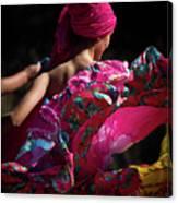 Mariachi Dancer 4 Canvas Print