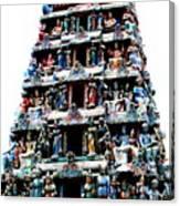 Mariamman Temple 1 Canvas Print