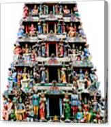 Mariamman Temple 3 Canvas Print
