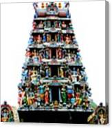 Mariamman Temple 4 Canvas Print