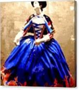 Marie Antoinette Figurine In New Orleans Canvas Print