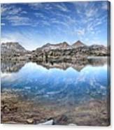 Marie Lake - John Muir Trail Canvas Print