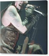 Marilyn Manson Canvas Print