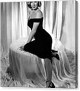 Marilyn Monroe Publicity Shot The Asphalt Jungle Canvas Print