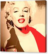 Marilyn Retro Poster Canvas Print