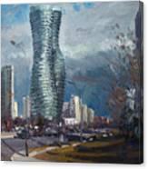 Marilyn Monroe Towers Mississauga Canvas Print