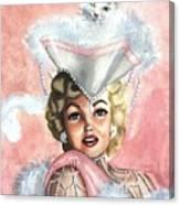 Marilyne Canvas Print