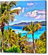 Marina Cay Canvas Print