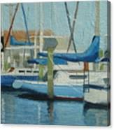 Marina No 4 Canvas Print