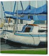 Marina No 5 Canvas Print