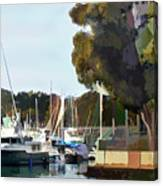 Marina Views Canvas Print