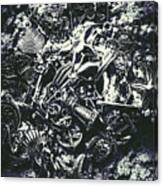 Marine Elemental Abstraction Canvas Print