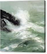 Marine Storm Sea 1911 Canvas Print