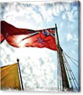 Mariners Flag Canvas Print