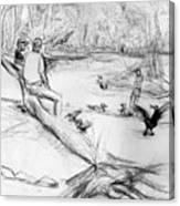 Mariners Musuem Park Canvas Print