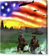Marines Canvas Print