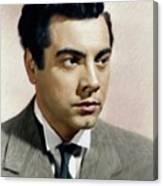Mario Lanza, Tenor/actor Canvas Print