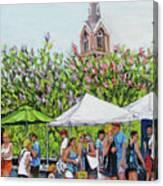 Marion Square Market Canvas Print