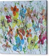 Mariposas De La Isla Canvas Print