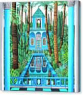 Marjorelle Reflections Canvas Print