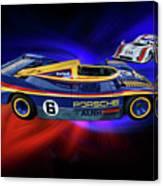 Mark Donohue And George Follmer Porsche Canvas Print