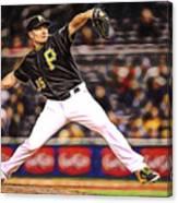Mark Melancon Baseball Canvas Print
