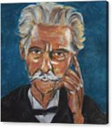 Albert Schweitzer Canvas Print