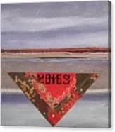 Marker At Dusk Canvas Print