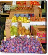 Market At Bensonhurst Brooklyn Ny 10 Canvas Print