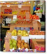 Market At Bensonhurst Brooklyn Ny 11 Canvas Print