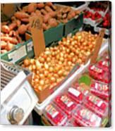 Market At Bensonhurst Brooklyn Ny 4 Canvas Print