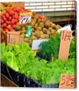 Market At Bensonhurst Brooklyn Ny 5 Canvas Print