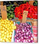Market At Bensonhurst Brooklyn Ny 6 Canvas Print