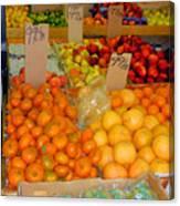 Market At Bensonhurst Brooklyn Ny 7 Canvas Print