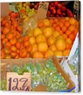 Market At Bensonhurst Brooklyn Ny 8 Canvas Print