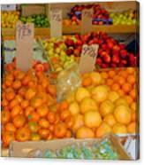 Market At Bensonhurst Brooklyn Ny 9 Canvas Print