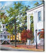 Market Hall In The Fall Canvas Print