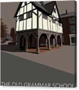 Market Harborough Grammar School Canvas Print