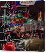 Market Medley Canvas Print