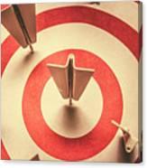 Marketing Your Target Market Canvas Print