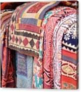 Marketplace Colors Canvas Print
