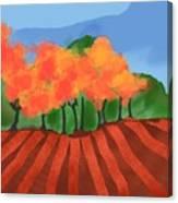 Marlborough Fall Canvas Print