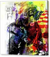 Marlon Brando American Hero Canvas Print