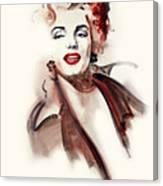 Marilyn Manroe Canvas Print
