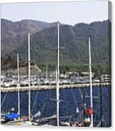 Marmaris Port Canvas Print