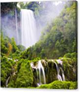 Marmore Waterfalls Italy Canvas Print