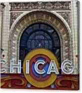 Marquee Close Up Canvas Print