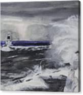Marquette Channel Marker Canvas Print