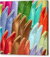 Marrakech Slippers Canvas Print