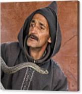 Marrakech Snake Charmer Canvas Print